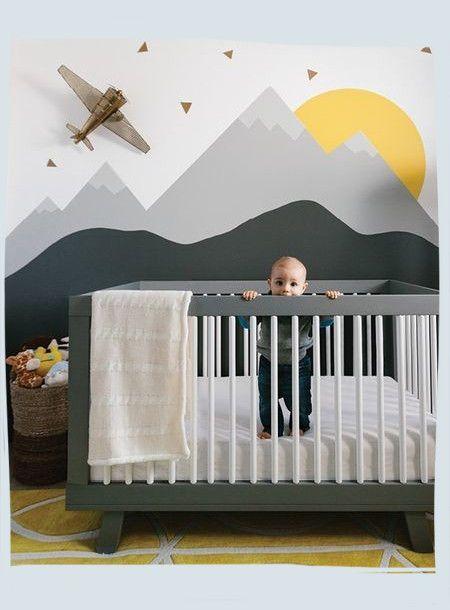 Modern nursery inspiration that's not so baby-ish!