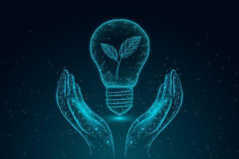 Concept D'écologie Technologique Avec Ma...   Free Vector #Freepik #freevector #eco