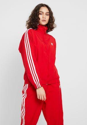 rote adidas jacke zalando