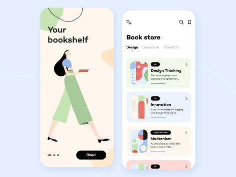 BookStore - Mobile App