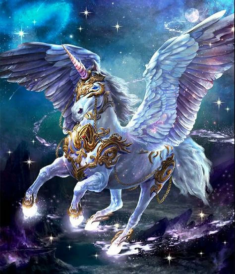 "Dark Summoner: ""Galactic Pegasus"""