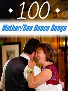 Finding That Special Dance For You And Your Mother Or Son Can Be Really Hard To Find We Have Compiled A List Of Songs Used While Our Wedding