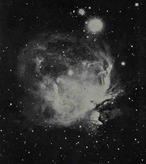 1955 ORION NEBULA LITHOGRAPH - original vintage print - celestial astronomy cosmology art - with andromeda galaxy on the reverse side - Whirlpool Galaxy-Andromeda Galaxy-Black Holes Orion Nebula, Andromeda Galaxy, Helix Nebula, Carina Nebula, Celestial Wedding, Whirlpool Galaxy, First Photo, Vintage Prints, Cosmos