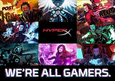 HyperX a annoncé l'extension en France, en Allemagne, au Royaume-Uni et dans les pays nordiques de sa campagne We're All Gamers, qui comprendra une nouvelle liste d'ambassadeurs européens reconnus. Cette campagne, qui sera diffusée sur des plateformes en ligne et numériques hors domicile, met en avant Post Malone, Raphaël Varane, Marco Reus, Dele Alli, Casemiro, […]  #JeuxVidéo #Casemiro, #Cloud9SRush, #DeleAlli, #HyperX, #MarcoReus, #Pokimane,