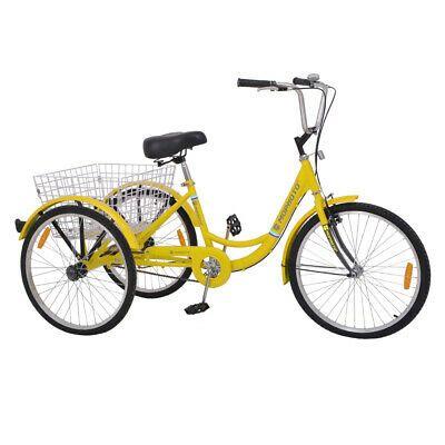 Sponsored Ebay 20 Inch Single 7 Speed Three Wheeled Bicycle Star