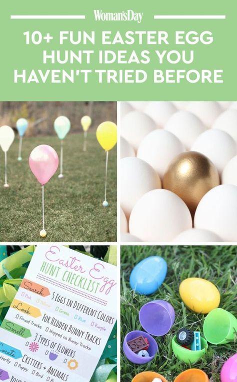27 Easter Egg Hunt Ideas That Take The Tradition Up A Notch Easter Eggs Kids Easter Egg Hunt Easter Egg Hunt Games