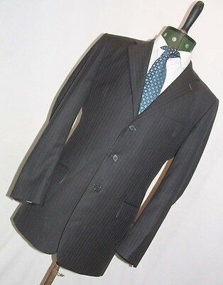 Ebay Sponsored Austin Reed Westminster Pinstripe 2 Piece Suit In 2020 Blue Suit Jacket Suits Austin Reed