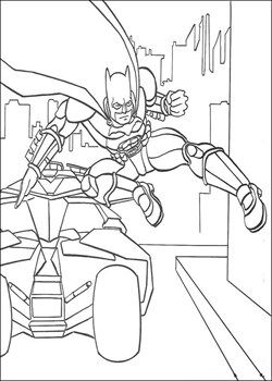 Batman Forever Coloring Pages Collection