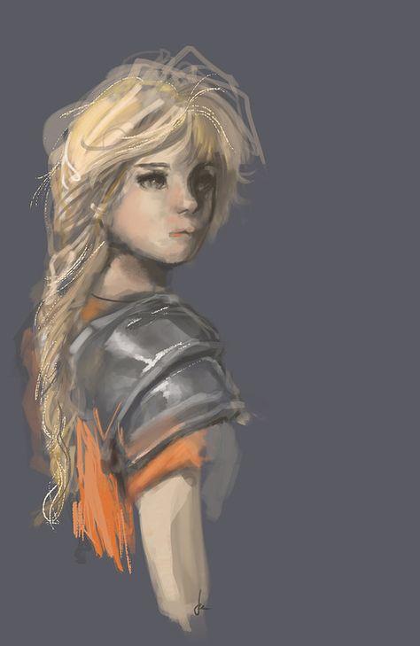 by toodledeedoo -- beastly - yet vulnerable-looking - annabeth