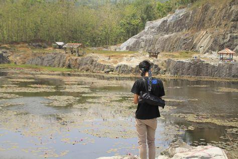 Wisata Tampomas Banjarnegara Merupakan Wisata Alam Eksotis Yang Menyuguhkan Pemandangan Tebing Batu Dan Danau Yang Dulunya Merupakan Tam Pemandangan Danau Alam