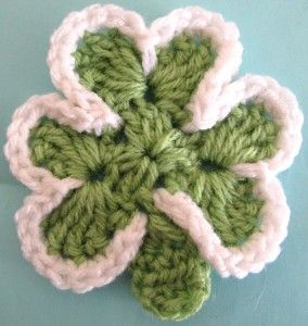 Shamrock Crocheted