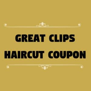 Pin On Great Clips Coupons