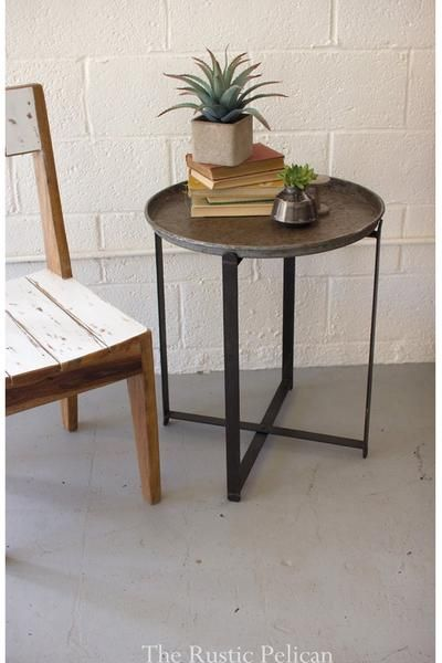 Sale Rustic End Table Rustic Furniture These Round End Tables