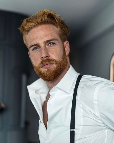Boys and men I like. Beards, smooth and hairy chests, hairy legs, kisses and blowjobs. Hot Ginger Men, Ginger Beard, Ginger Hair, Ginger Guys, Moustaches, Gorgeous Redhead, Beautiful Men, Gorgeous Guys, Undercut With Beard
