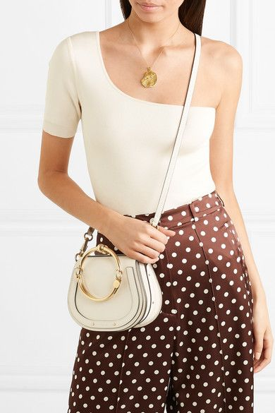 c0814089bf Chloé | Nile Bracelet small leather and suede shoulder bag | NET-A ...