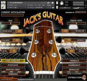 Hephaestus Sounds Jacks Concert Guitar V1 10 Kontakt Guitar Concert Sound