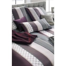 Bettwasche Cornflower Stripes Deep Wine Joop Bettwasche