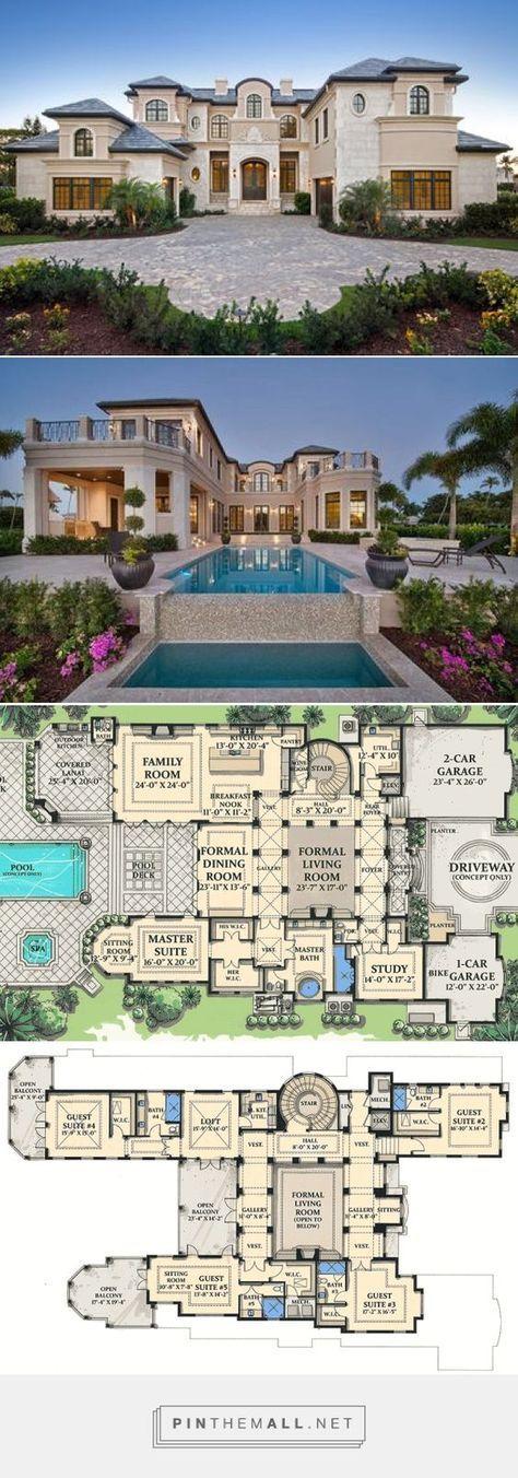 Mind Blowing Luxury Home Plan Arsitektur Modern Desain Arsitektur Arsitektur