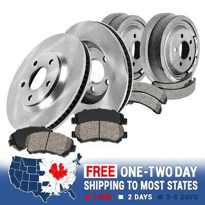 Details About Front Brake Rotors Ceramic Pads Rear Drums Shoes For 1996 2001 Lumina In 2020 Front Brakes Brake Rotors Ceramic Brake Pads