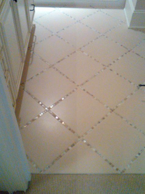 Pin By Sarah Hovis On For The Home Home Diy Tile Floor Diy Diy Flooring
