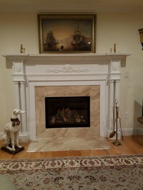 Purchase A Wooden Fireplace Mantle Designed With Old World