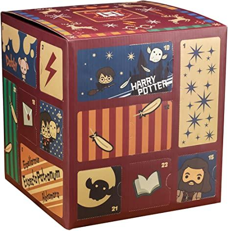 Paladone Harry Potter Advent Calendar Cube With 24 Gifts Christmas Countdown Toy In 2021 Harry Potter Gifts Harry Potter Christmas Ornaments Harry Potter Christmas