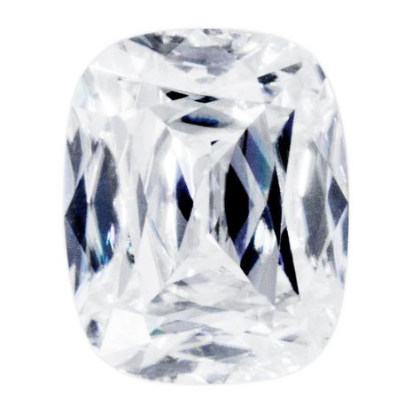 Emerald FAB Moissanite Loose Stone by Fire & Brilliance