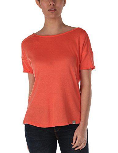 meet 3e310 c6de3 Bench Damen Pullover Pullover Curvside Orange (Coral) Medium ...