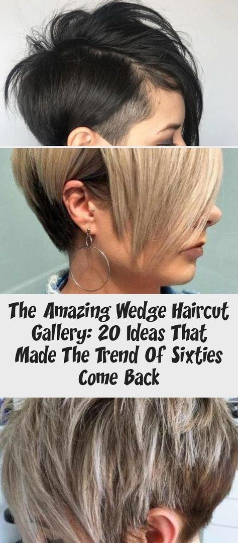 Curly Wedge ❤️The wedge haircut is on everyone's lips today! Do you know why? It's the best idea for thin hair that makes ladies forget about flat looks once and for all. See how it works: anything from short and classic pixie to medium and modern bob is here. | short bob hairstyles stacked wedges thin hair #wedgehaircut #haircuts #lovehairstyles #hair #hairstyles #haircuts #curlyhairBob #curlyhairMemes #curlyhairAesthetic #curlyhairProm #curlyhairOvernight