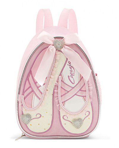 From 10.43 Capezio B122c Ballet Shoes Sparkle Backpack18cm W X 23cm H X 12cm Dpink Sparkle