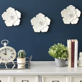 Winston Porter Organically Sustainable Magnolia Flower Magnets Wall Decor Reviews Wayfair In 2020 Metal Flower Wall Decor Flower Wall Decor Fish Wall Decor