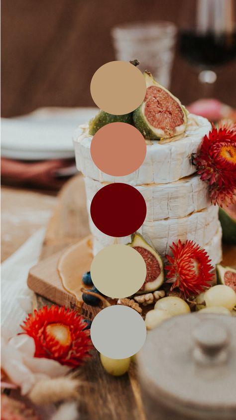 Oregon Painted Hills Desert Fig Fall Color Palette Wedding