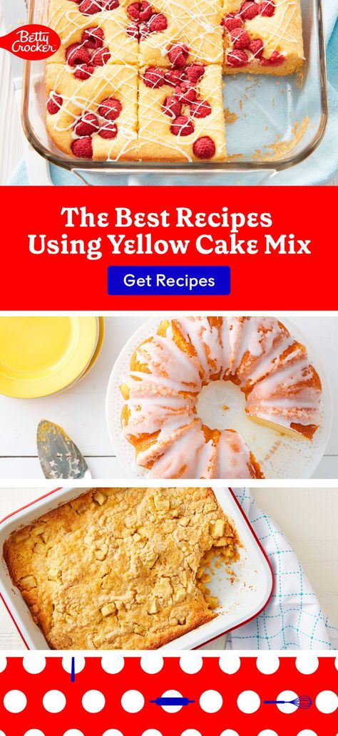 We'd never keep these from you. Check out The Best Recipes Using Yellow Cake Mix. Pin today for desserts the family will love.