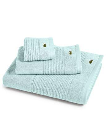 Lacoste Home Lacoste Mix And Match Cotton Fashion Towels Reviews Bath Towels Bed Bath Macy S Baby Clothes Shops Lacoste Cotton
