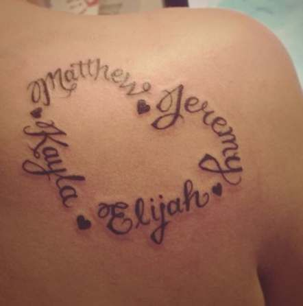 Download Free Heart Names Tattoo Tattoos Pinterest To Use And Take To Your Artist Tatto Heart Tattoos With Names Name Tattoos For Moms Tattoos For Kids