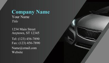 Car Dealer Business Cards Cars Premium Business Cards Business Card Template Design Business Cards