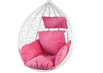 Fotel Wiszacy Ogrodowy Hustawka Kokon Kosz Bujany Hanging Chair Furniture Decor