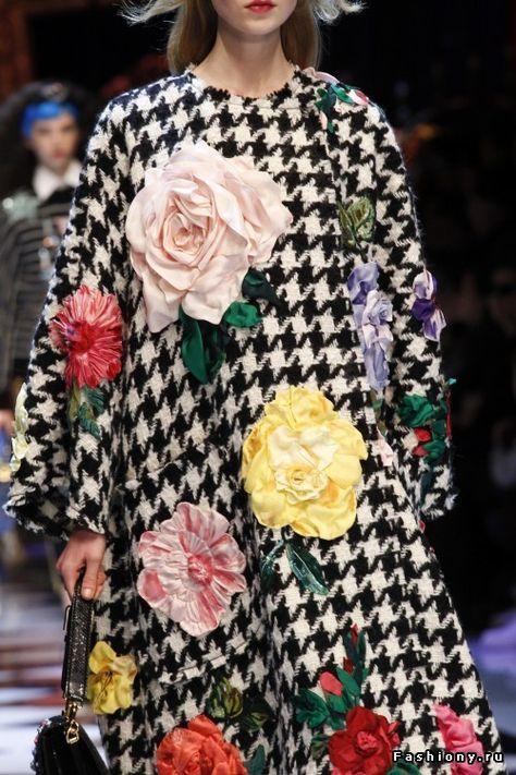 66 New Ideas Flowers Fashion Show Dolce & Gabbana