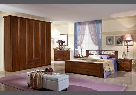 kamar set simple modern kayu jati | ide dekorasi rumah