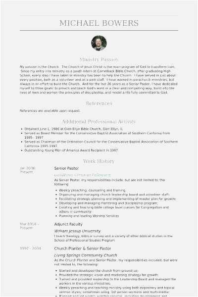 Free Pastor Resume Samples Pastors Resume Sample Best Unique Resume Template Resume Template Resume Design Template