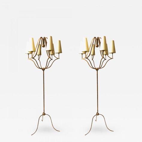 Jean Royère pairfloor lamp model 'Jacques' | Lampe sur pied