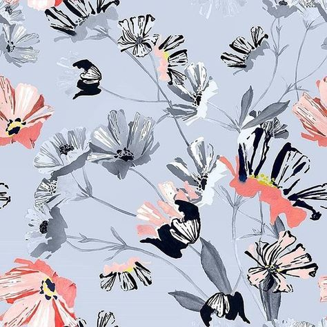Tossed floral from Patternbank