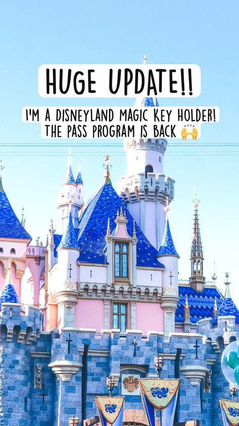 HUGE UPDATE!! I'm a Magic Key Holder 🥺