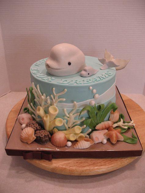Birthday Cakes - Dolphins! Love it!