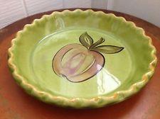 Vintage Cute Pie Plate Los Angeles Potteries Ovenware Cute Kitchen Decor 70\u0027s   Los Angeles Pottery   Pinterest   Pie plate Kitchen decor and Pottery & Vintage Cute Pie Plate Los Angeles Potteries Ovenware Cute Kitchen ...