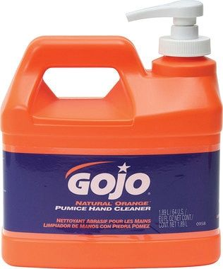 Gojo Pumice Hand Cleaner 1 2 Gallon Clean Hands Citrus Scent Bottle