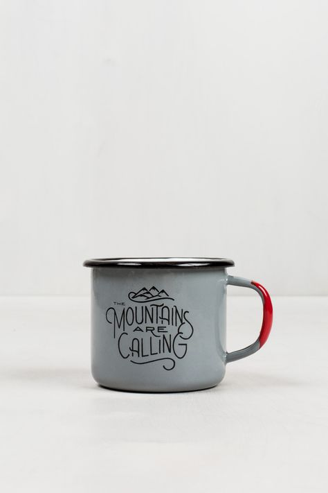 Details about  /United by Blue NEW 12oz Enameled Campfire Mug FOREST Go Outside And Do Some Good