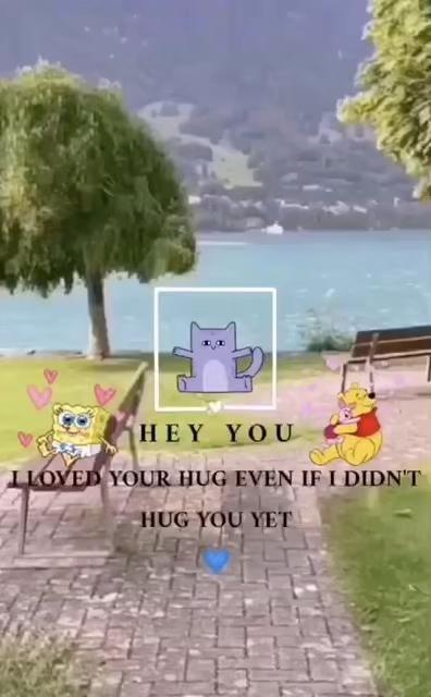 ستوريات حـحـب Video Hug You Love Hug
