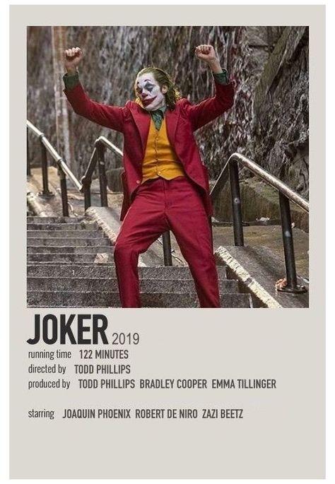 joker minimalist poster