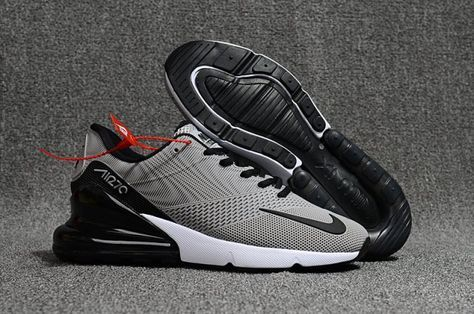 Nike Air Max Flair 270 Kpu Men S Running Shoes Grey Black Sim004756 Running Shoes For Men Sneakers Men Fashion Nike Air Max